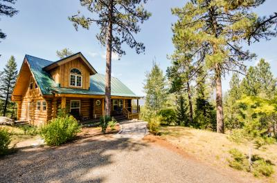 Cascade Lakeview Log Cabin - Cascade Vacation Rental