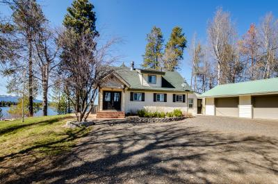 Loomis Lakefront Hunting Lodge with Dock - Donnelly Vacation Rental
