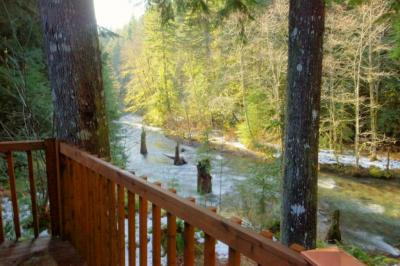 Clear Creek Cabin - Rhododendron Vacation Rental