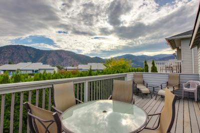 Wapato Ridge: Manson Lakeview Townhouse (204) - Manson Vacation Rental
