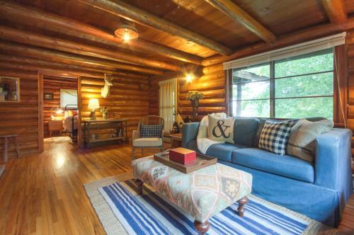 Lincoln Log Cabin - Harrison, ID Vacation Rental