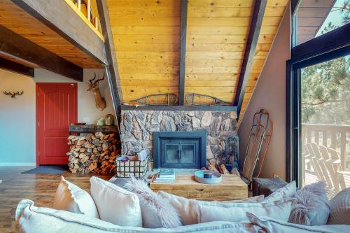 The Antler A-Frame Cabin -  Vacation Rental - Photo 1