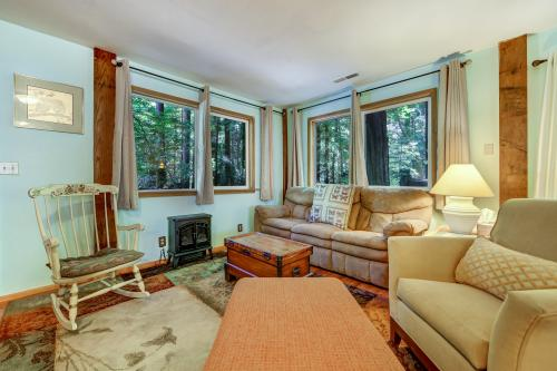 Redwood Clubhouse - Cazadero, CA Vacation Rental