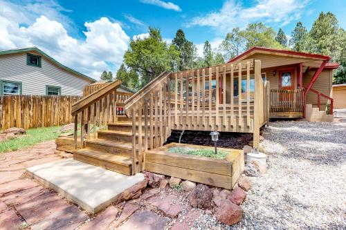 Charming Terrace Cottage - Flagstaff, AZ Vacation Rental