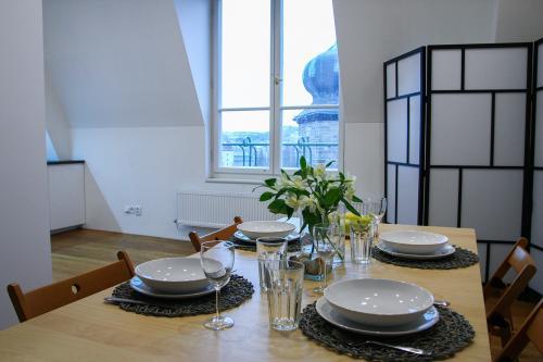 Riverside Penthouse Masarykovo Nabrezi - Prague, Czechia Vacation Rental