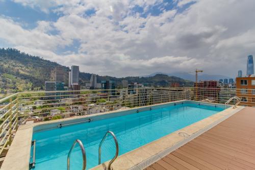 Depto. en Edificio Living Urbano - Santiago, Chile Vacation Rental