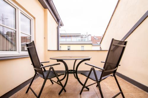 Lesser Town Retreat 12 Plaska Penthouse CZPR34 - Prague, Czechia Vacation Rental