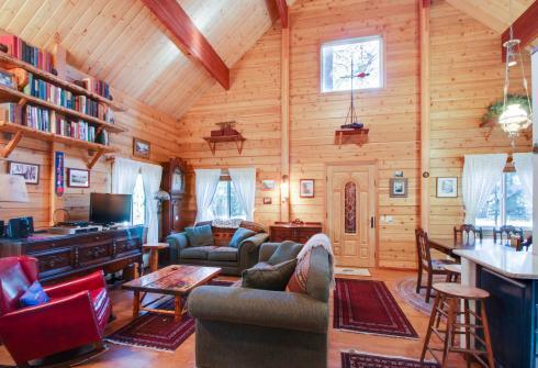 Charming Log Cabin at Al Tahoe - South Lake Tahoe, CA Vacation Rental