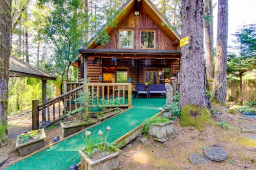 Tall Pines Log Cabin - Florence, OR Vacation Rental