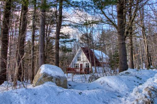 Mullen Chalet - Greenwood, ME Vacation Rental