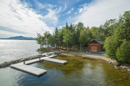 Beachfront Boathouse - Greenville, ME Vacation Rental