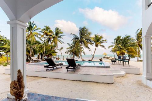 C1 @ Blue Water Beach Villas - San Pedro, Belize Vacation Rental