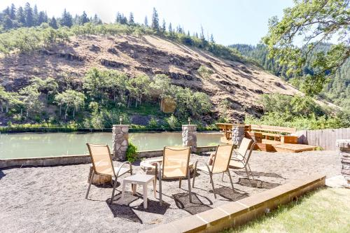 Klickitat Riverfront: The Coho (#1) - Klickitat, WA Vacation Rental