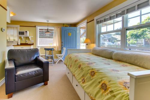 Hidden Villa Cottage #5 - The Sunflower Cottage - Cannon Beach, OR Vacation Rental
