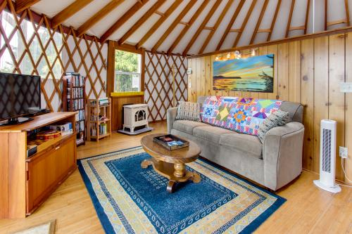 Yurt on the Bay - Bay City, OR Vacation Rental