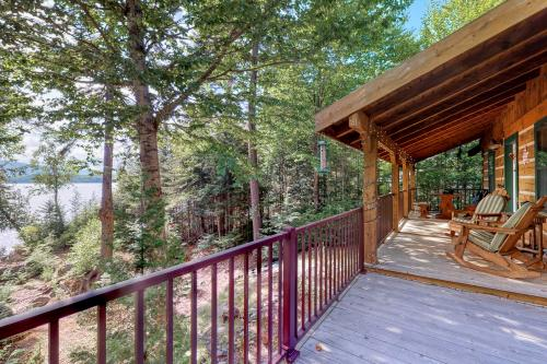 Canadian Cedar Log Cabin - Greenville, ME Vacation Rental