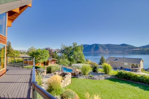 Willow Point Hideaway - Manson, WA Vacation Rental