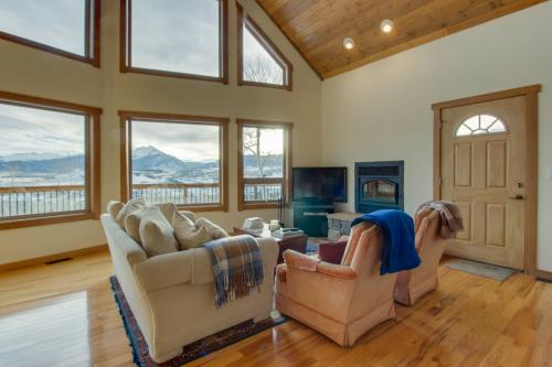 Ptarmigan Mountain Home  -  Vacation Rental - Photo 1