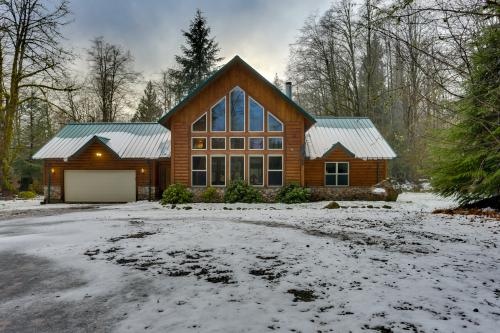 Wyu0027 East Log Lodge   Vacation Rental   Photo ...