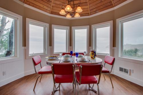 Berni's Ocean View Castle - an Oceanside Legend - Oceanside, OR Vacation Rental