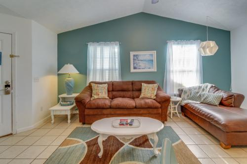 Beach Cottage A: 5703A Beach Drive - Panama City Beach, FL Vacation Rental