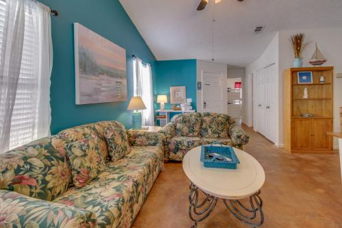 Beach Cottage B: 5703B Beach Drive -  Vacation Rental - Photo 1