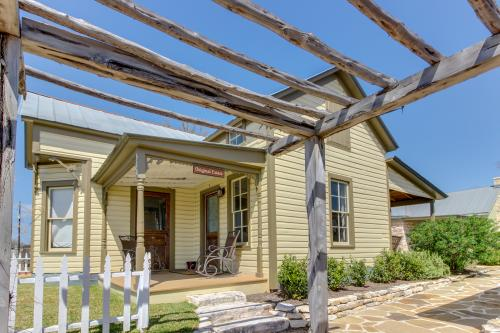 Wine Country Cottages on Main: The Original Estate - Fredericksburg, TX Vacation Rental