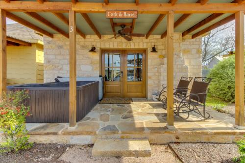 Wine Country Cottages on Main: Cork & Barrel - Fredericksburg, TX Vacation Rental