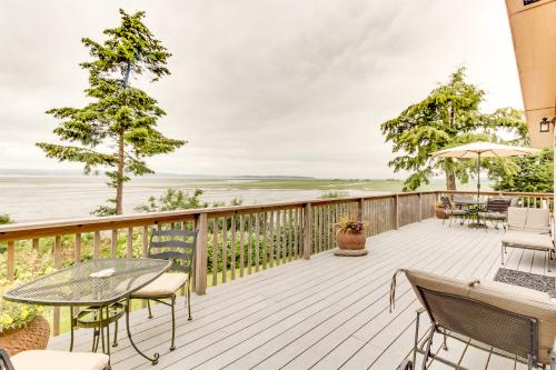 The Warm Beach Waterfront House on the Puget Sound -  Vacation Rental - Photo 1
