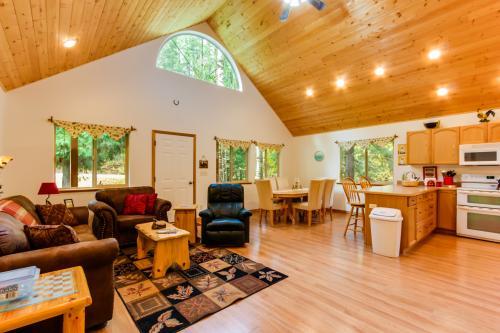 Nana's Schweitzer Mountain Creekside Cabin -  Vacation Rental - Photo 1