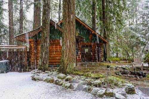 Zoe's Log Cabin - Brightwood, OR Vacation Rental