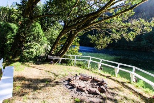 Umpqua Riverfront A-frame -  Vacation Rental - Photo 1