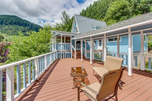Umpqua Riverfront Contemporary Home  - Reedsport, OR Vacation Rental