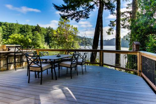 Blacks Arm Luxury Trio - Boat-Access Only - Lakeside, OR Vacation Rental