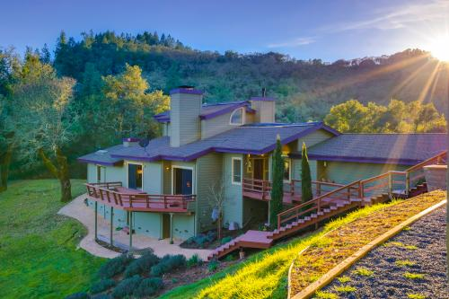 Leslie Creek House - Santa Rosa, CA Vacation Rental