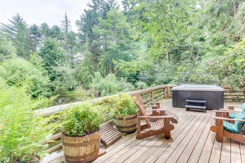 Whidbey Island Log Cabin Rentals