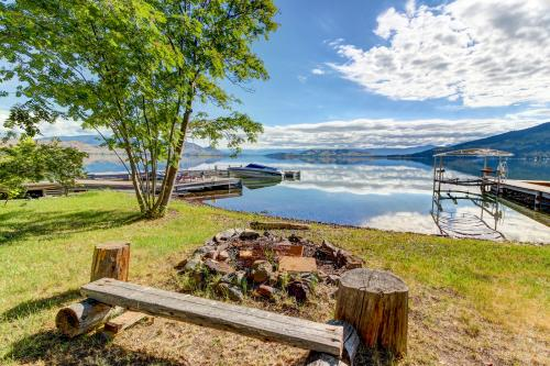 Skipping Rock Lakehouse - Big Arm, MT Vacation Rental