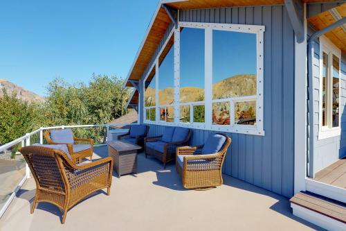 Sun Cove Cabin - Orondo, WA Vacation Rental
