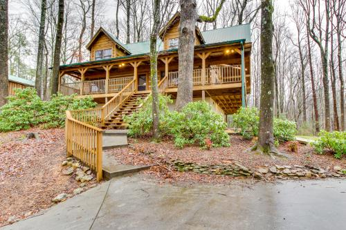 Smokies Sanctuary Cabin -  Vacation Rental - Photo 1