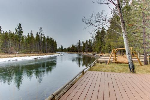 Log Cabin Riverfront Getaway -  Vacation Rental - Photo 1