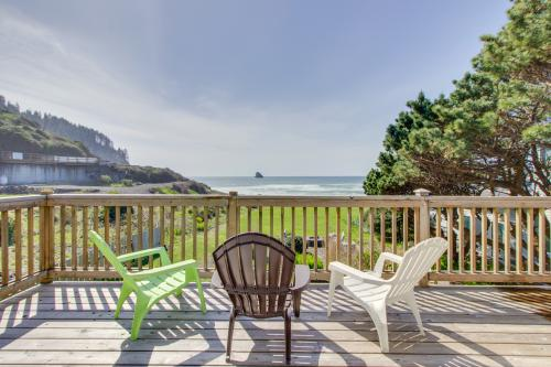 Shoreline Cottage Oceanfront Vacation Rental - Cape Meares, OR Vacation Rental