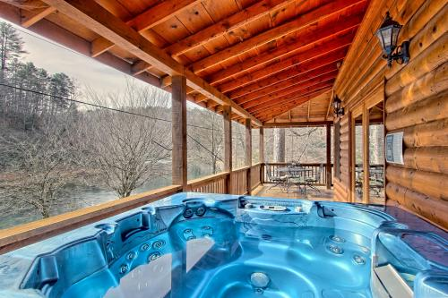 rock blue ridge rentals cabin cabins sliding of pet unique georgia friendly gallery ellijay ga