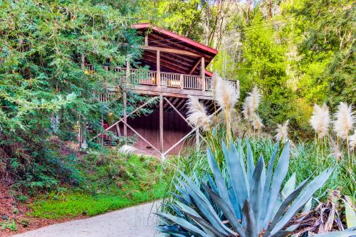 Tree Top View Cabin - Felton, CA Vacation Rental