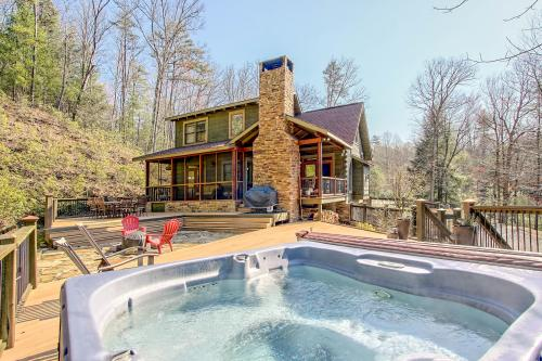 Ross Creek Falls - Ellijay, GA Vacation Rental