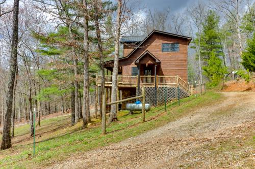 Treehouse Cabin  - Blue Ridge, GA Vacation Rental