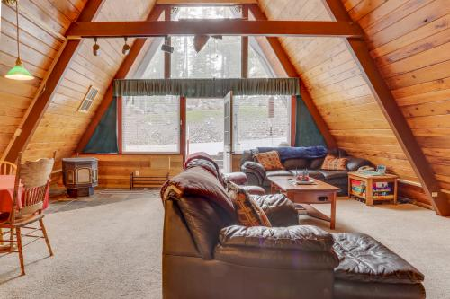A-Frame Mountain Camp -  Vacation Rental - Photo 1
