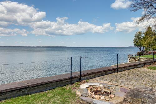 Thayer Beach Front Home  - Colchester, VT Vacation Rental