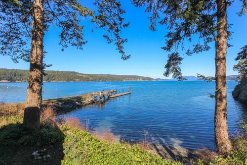 Lopez Island Hunter Bay Waterfront Home -  Vacation Rental - Photo 1