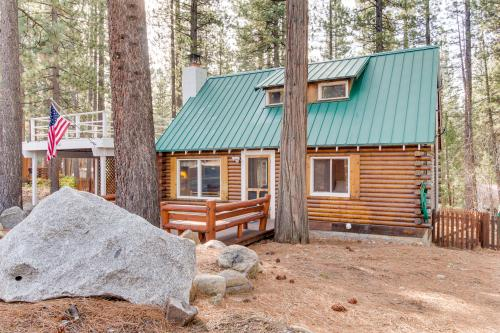 Enchanted Bear Log Cabin - Kings Beach Vacation Rental