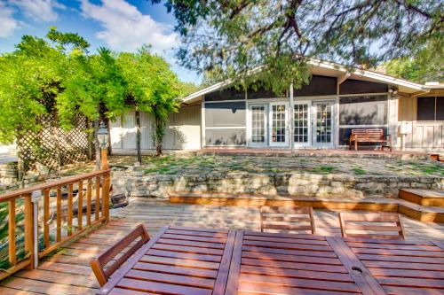 Sunny Outdoor Haven on the Lake - Lago Vista, TX Vacation Rental